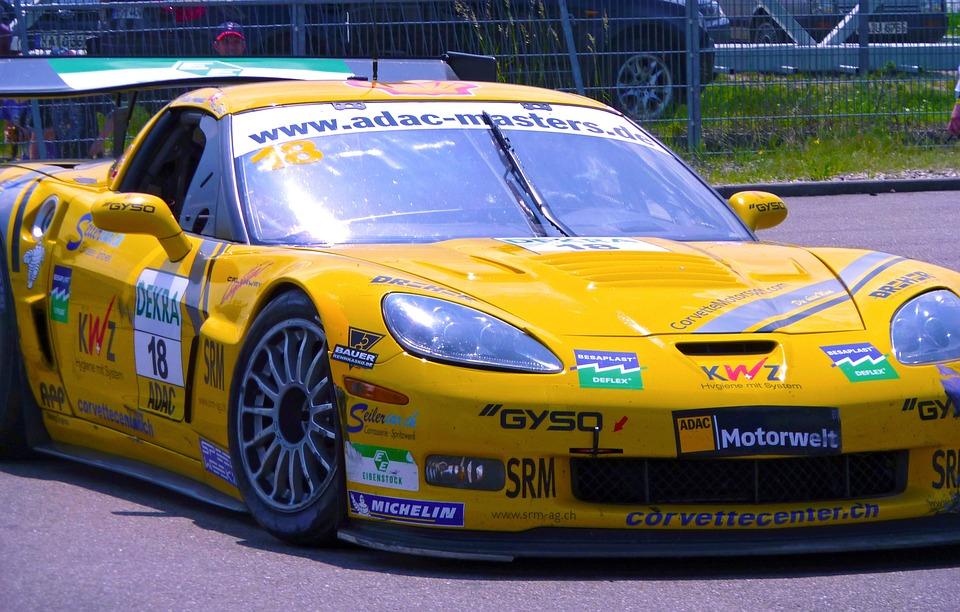 Racing Car, Auto, Motorsport, Corvette, Racing