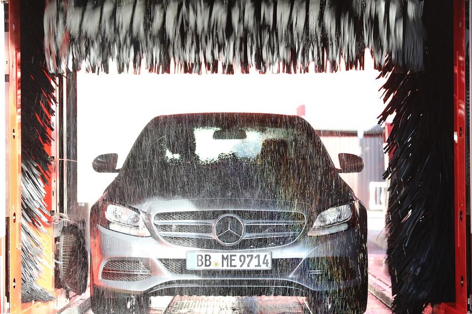 Car Wash, Car Care, Auto, Cleaning, Daimler