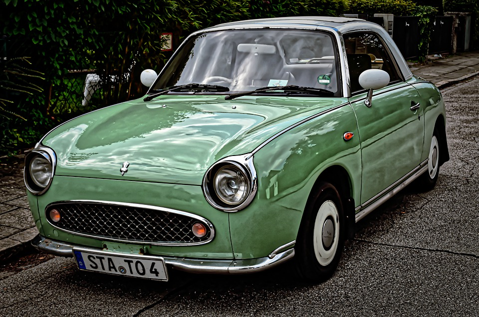 Nissan, Figaro, Auto, Oldtimer, Youngtimer, Car