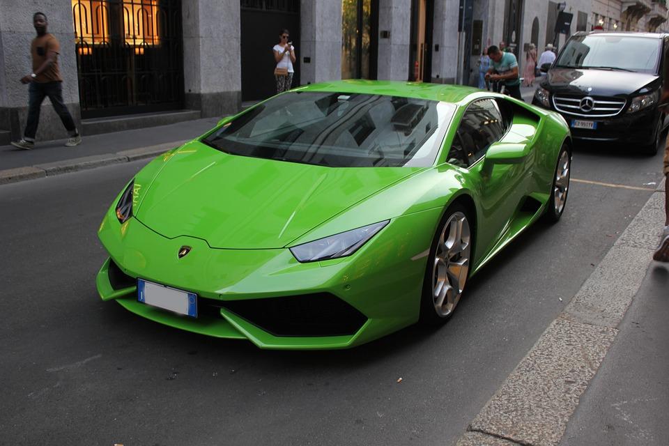 Auto, Sporty, Lamborghini, Montenapoleone, Luxury