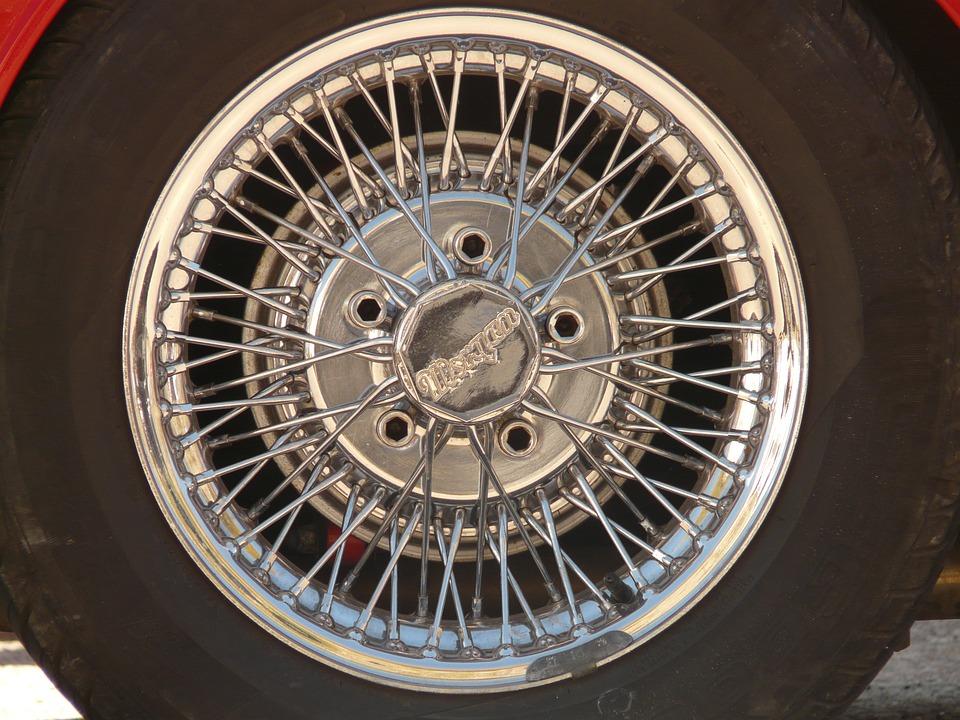 Rim, Wheel, Auto, Mature, Chrome