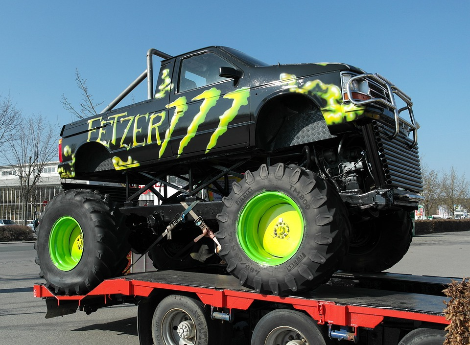 Truck, Vehicle, Monster Truck, Auto, Automotive, Drive