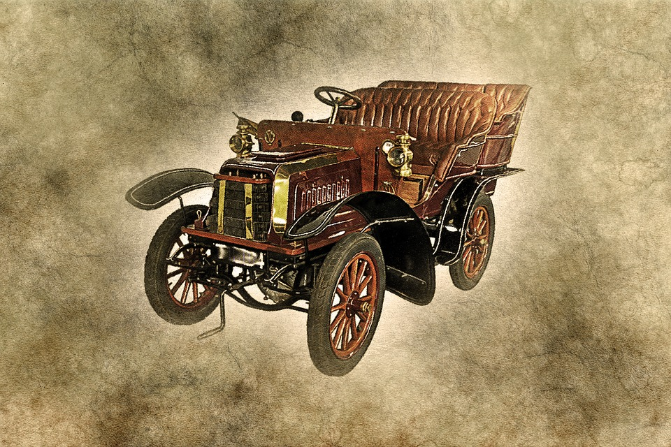 Car, Old Car, Art, Abstract, Vintage, Artistic, Auto