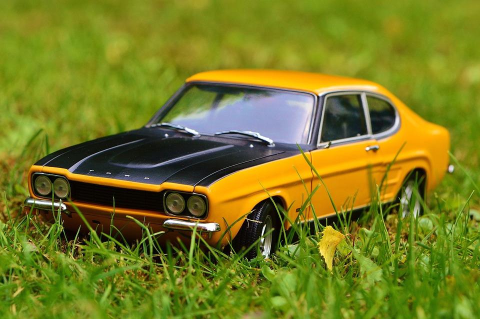 Capri, Auto, Model, Oldtimer, Vehicles, Model Car