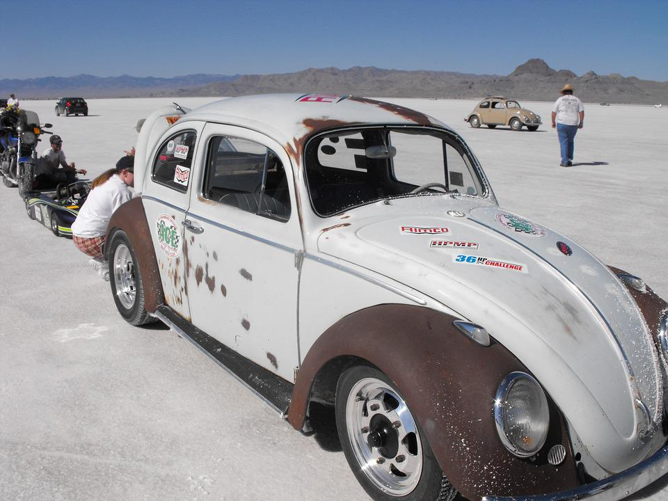 Free photo Auto Racing Speed Salt Flats Vintage Track - Max Pixel
