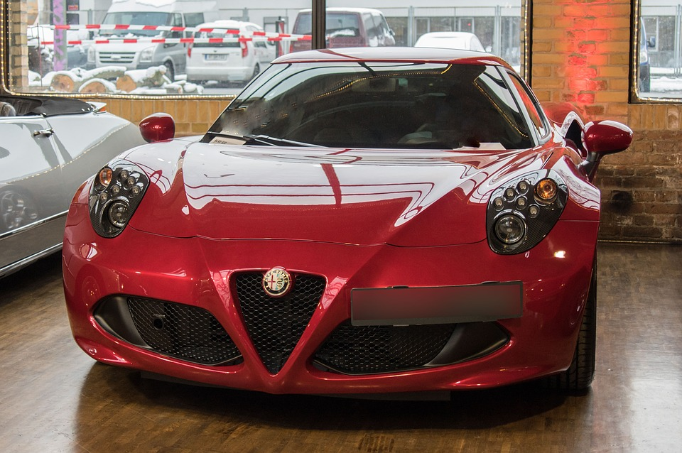 Auto, Alfa Romeo, Sports Car, Vehicle, Show