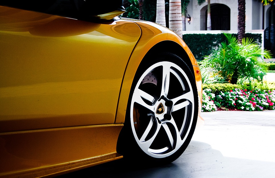 Lamborghini, Auto, Car, Yellow, Sportscar, Automobile