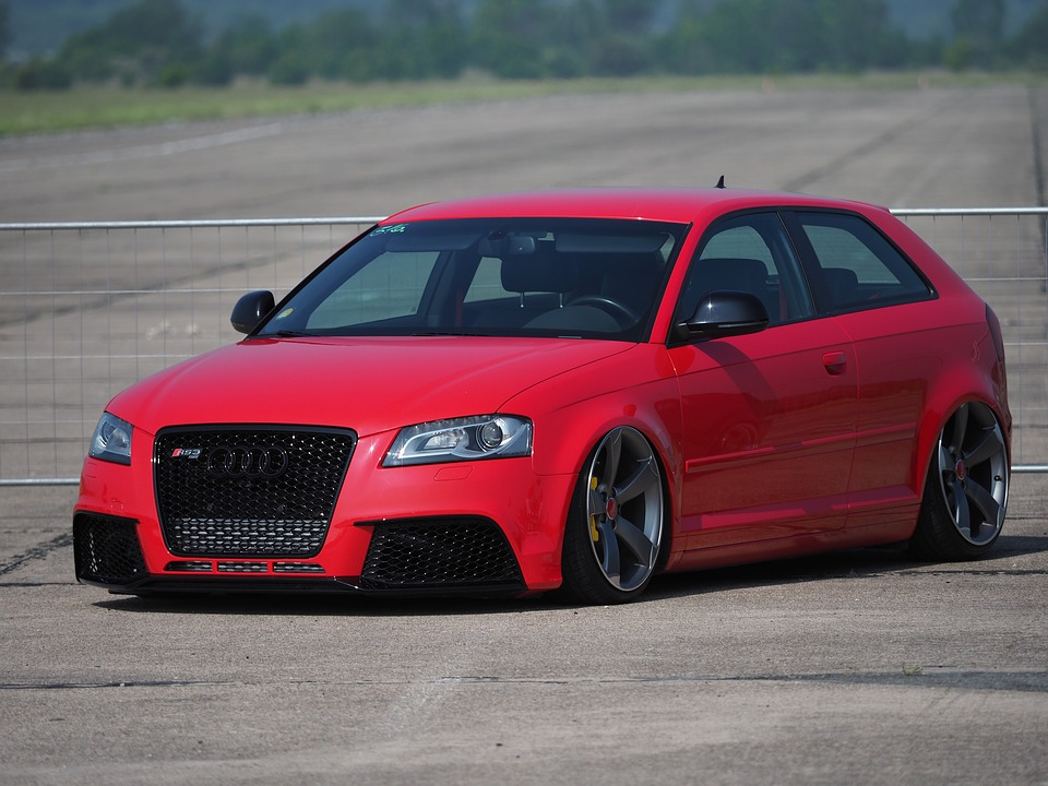 Audi Coffee Cup >> Free photo Auto Tuning Audi Cars Red Quick - Max Pixel
