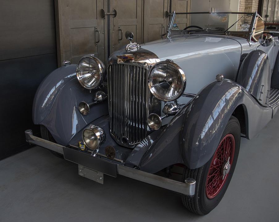 Auto, Lagonda, Oldtimer, Chrome, Classic, Vehicle