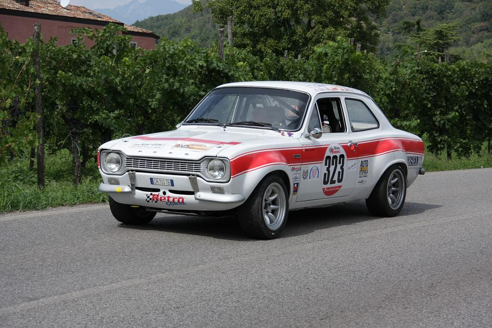 Ford, Escort, Rally, Race, Speed, Car, Vehicle, Auto