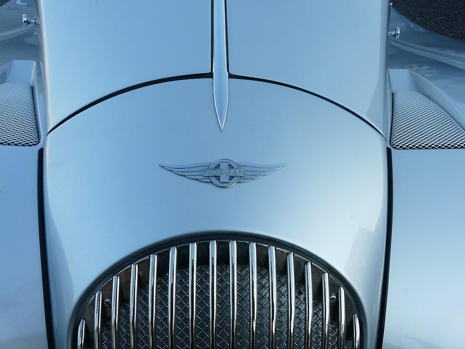 Auto, Wagen, Logo, Morgan