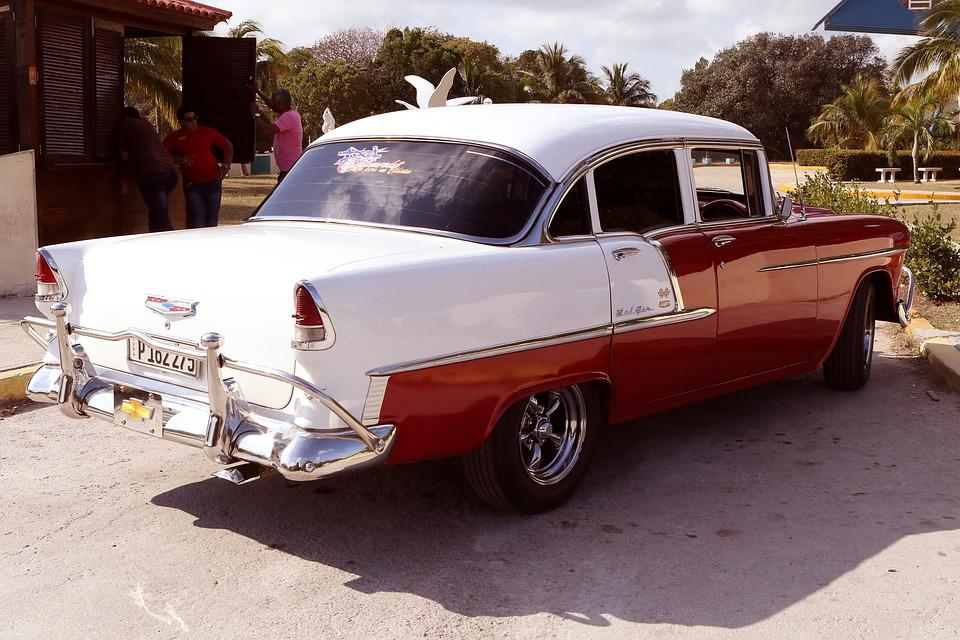 Chevy, Chevrolet, Bel Air, Automobile, Car, Auto