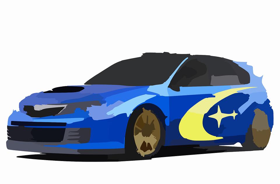 Subaru, Sports Car, Car, Automobile, Vehicle, Auto