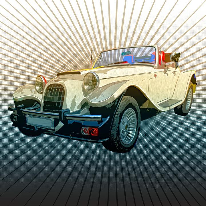 Car, Automobile, Transportation, Vehicle, Retro