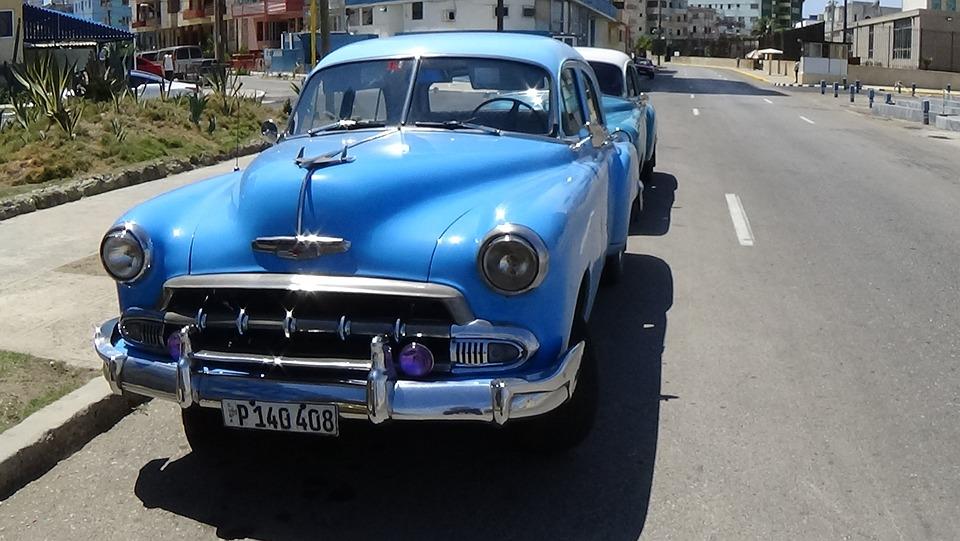 Free photo Automobile Cuba Vehicle Retro Car Old Cars Havana - Max Pixel