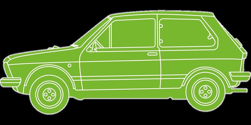 Car, Vw, Volkswagen, Automobile, Green, Passenger Car