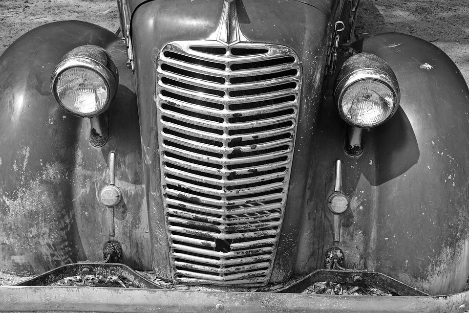 Automobile, Bonnet, Grill, Headlights, Face, Front