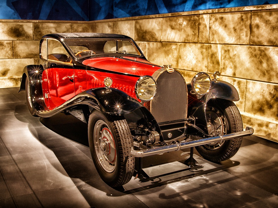 Bugatti, 1932, Car, Automobile, Vehicle, Motor Vehicle