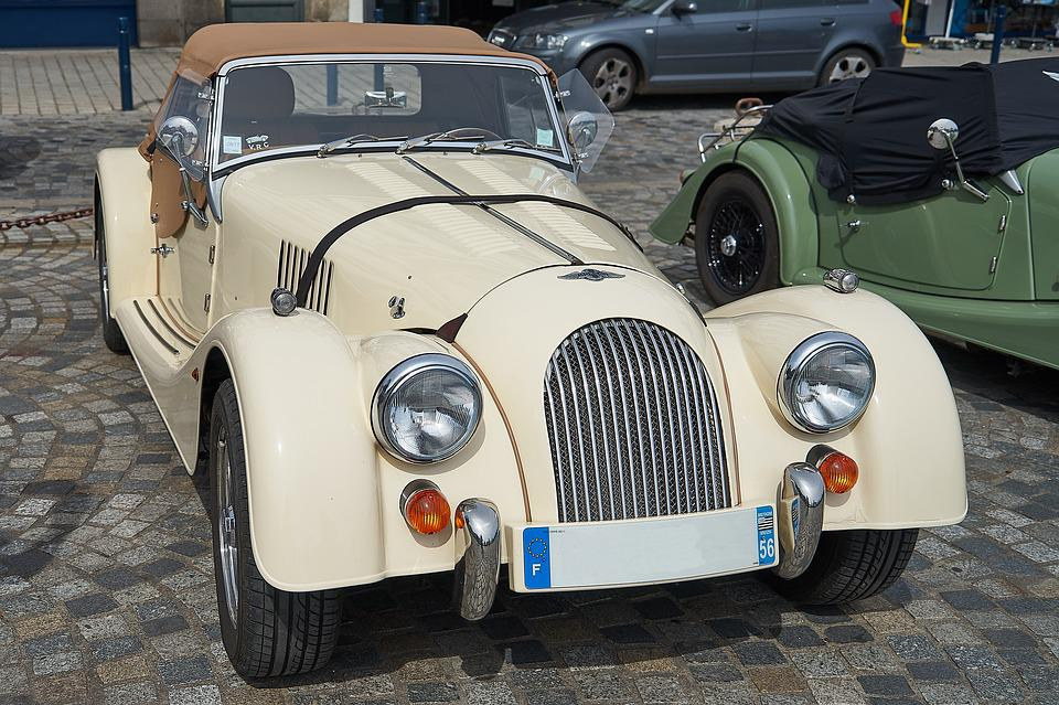 Automobile, Vehicle, Transport, Style, Classical, Drive