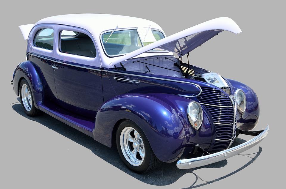 Classic Car, Automobile, Vintage, Retro, Design