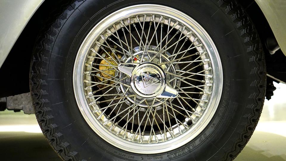 Free photo Automobile Wire Wheel Wire Car Wheel Vehicle - Max Pixel