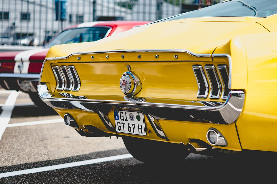 Auto, Vehicle, Mustang, Oldtimer, Automotive, Gt