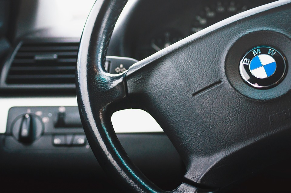 Bmw, Steering Wheel, Car, Interior, Automotive