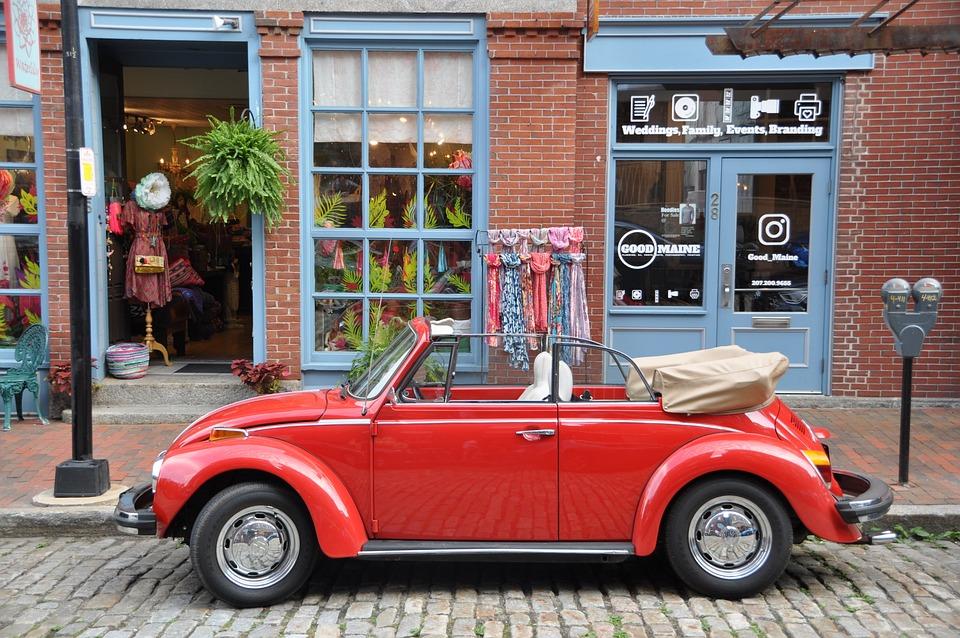 Vw, Beetle, Oldtimer, Auto, Cabriolet, Automotive