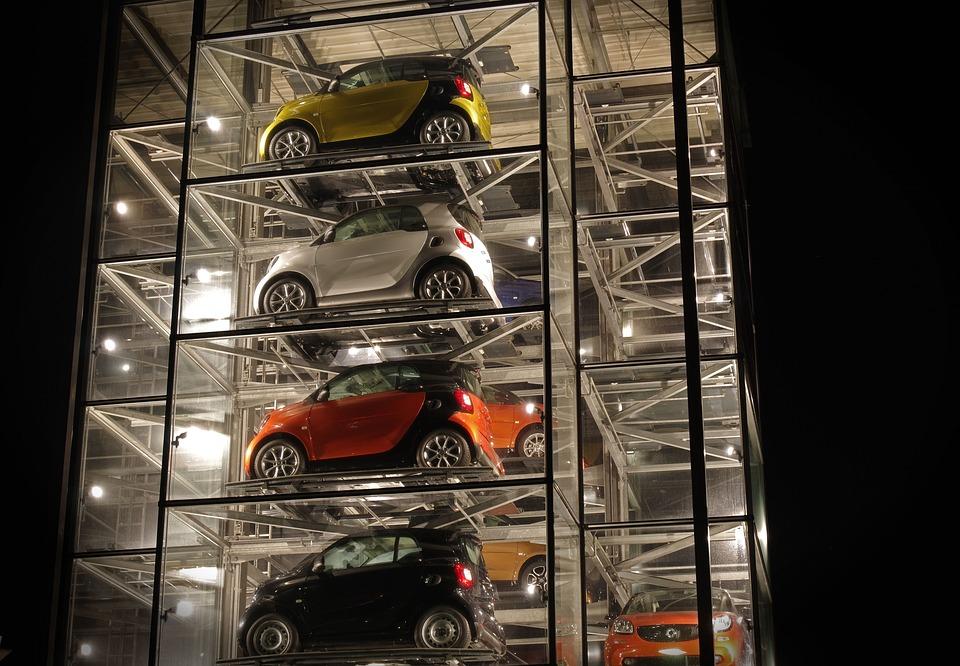Automotive, Car Tower, Smart, Exhibition