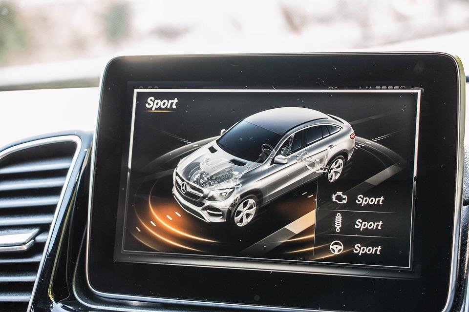 Navigation, Car, Automotive, Automobile, Mercedes-benz