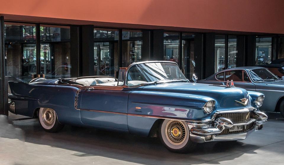 Cadillac, Cabriolet, Auto, Automotive, Oldtimer
