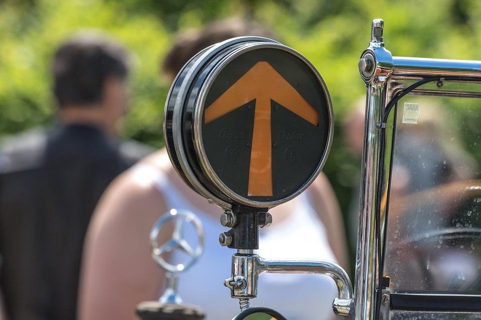 Direction Indicator, Automotive, Blinker, Oldtimer