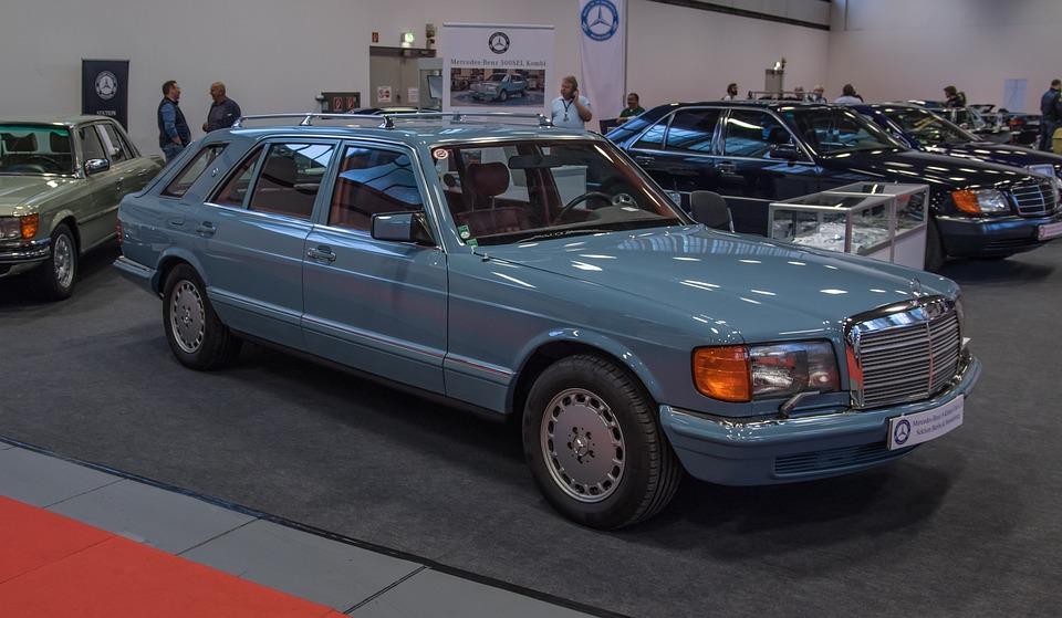 Mercedes, W126, Shooting-break, Oldtimer, Automotive