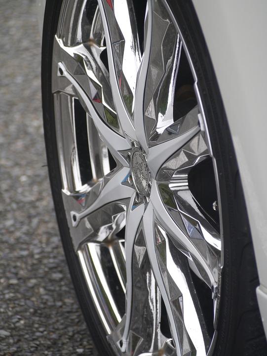 Car, Wheel, Radial, Metal, Silver, Toyota, Automotive