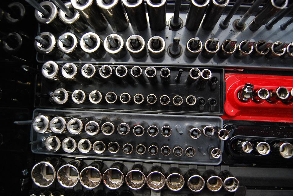Toolbox, Socket, Repair, Tool, Automotive, Maintenance