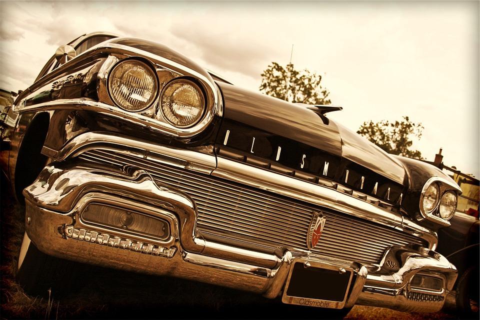 Oldsmobile, Classic, Car, Vintage, Automotive