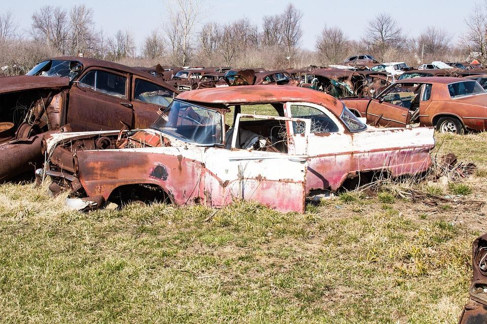 Free photo Autos Rusty Stuff Cars Obsolete Rusty Junk Yard - Max Pixel