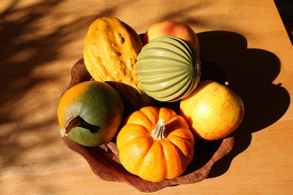 Apple, Autumn, Autumn Colours, Squash