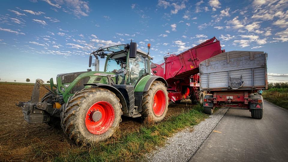 Potato Harvest, Autumn, Field, Arable, Agriculture