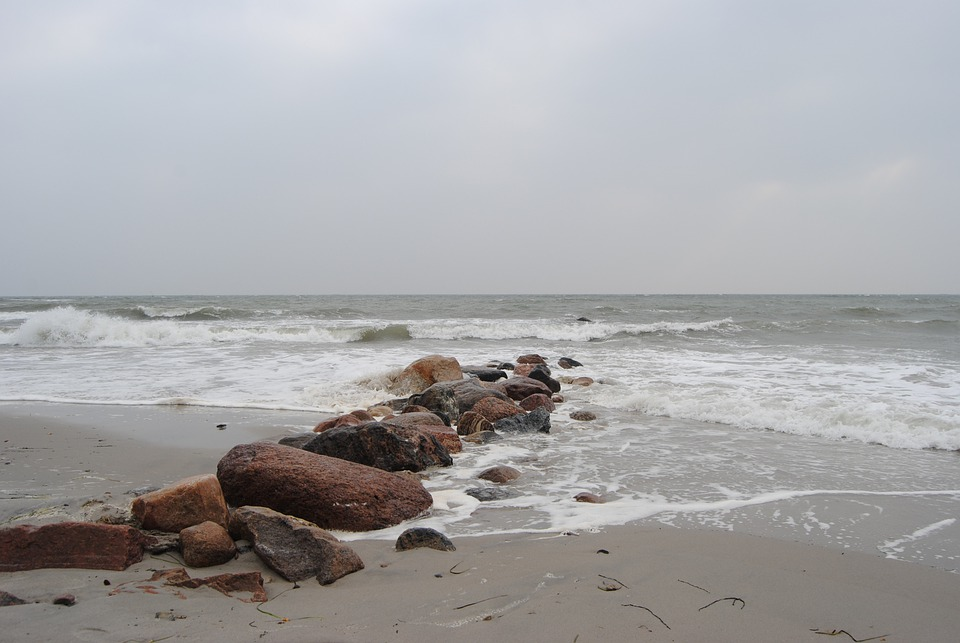 Kellenhusen, Baltic Sea, Beach, Stones, Autumn