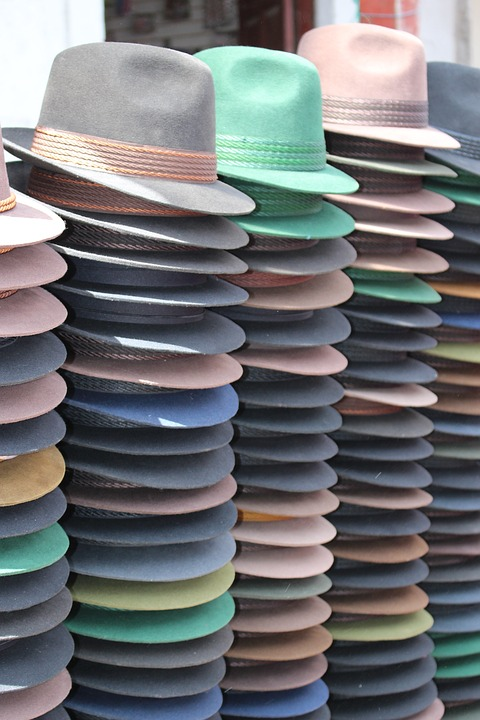 Ecuador, Hats, Green, Brown, Black, Dark Brown, Autumn