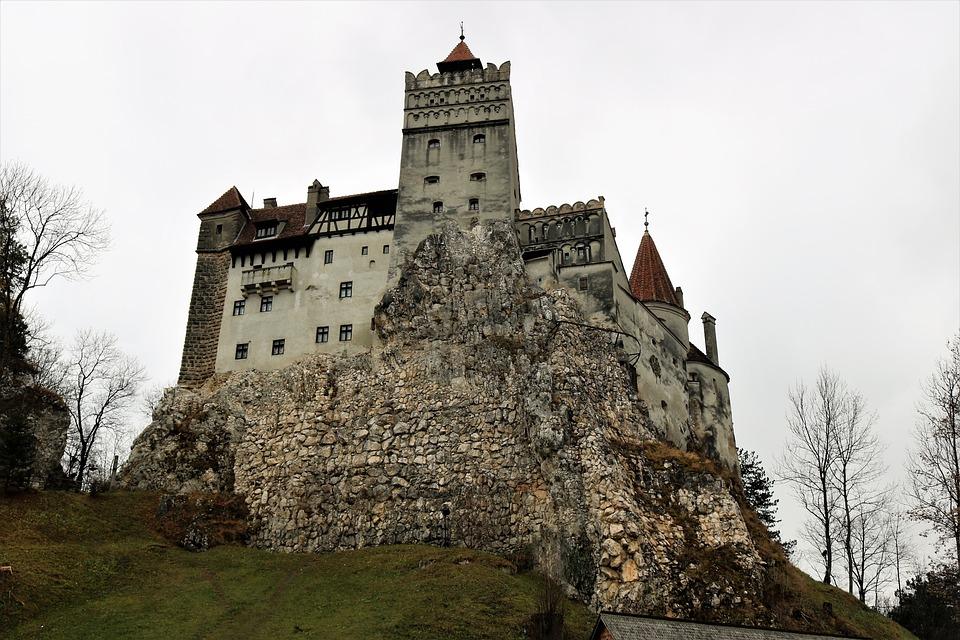 Castelul Bran, Romania, Castle, Europe, Autumn