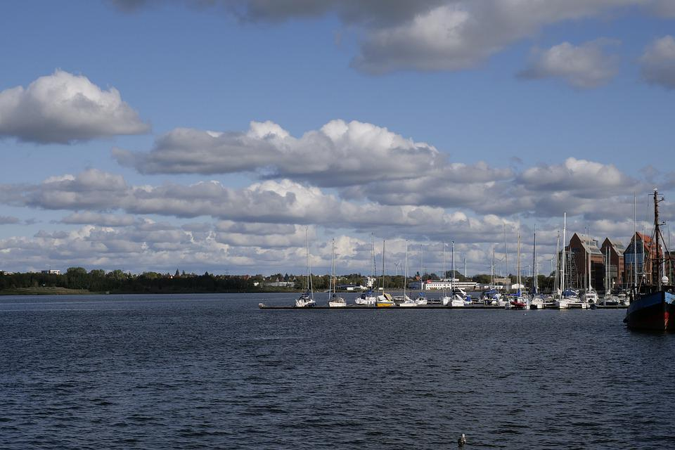 Autumn, Sky, Clouds, Mood, Horizon, Water, Weather