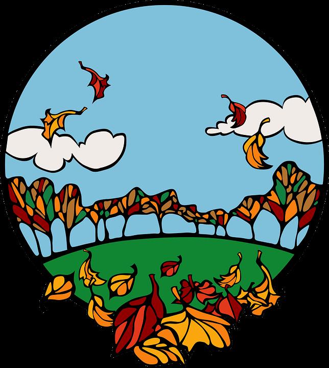 Autumn, Fall, Seasons, Colourful, Leaves, Falling
