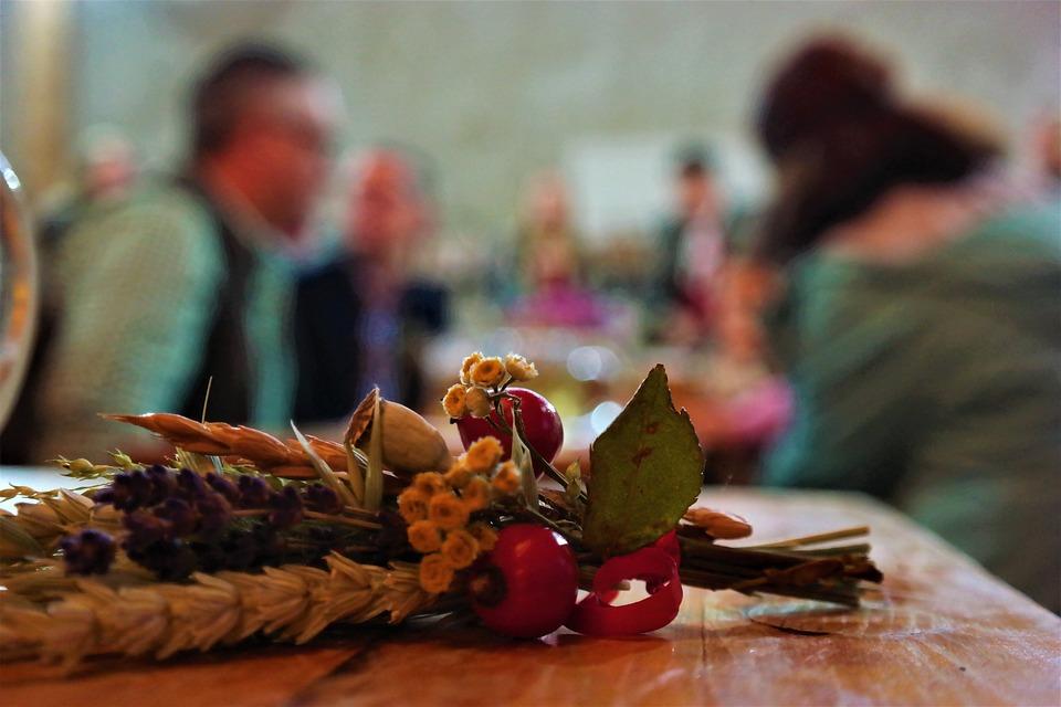 Corsage, Thanksgiving, Decoration, Autumn