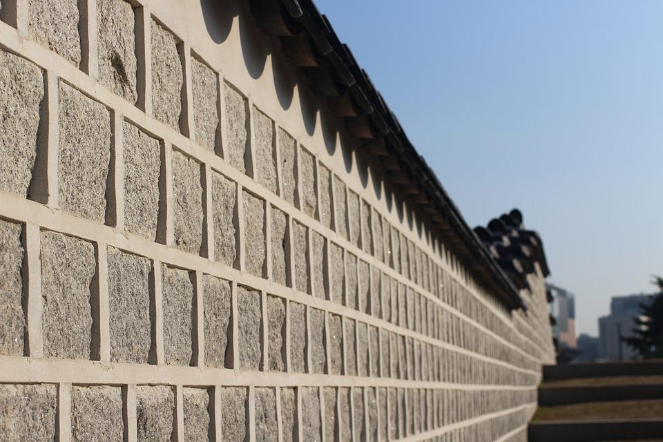 Republic Of Korea, Forbidden City, Autumn