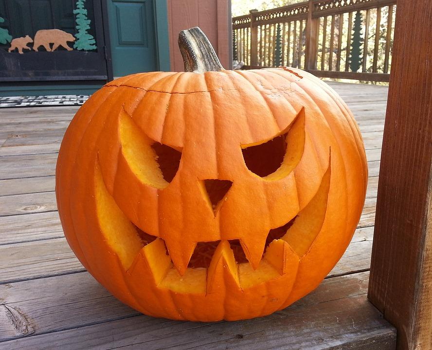Carved Pumpkin, October, Halloween, Autumn, Pumpkin