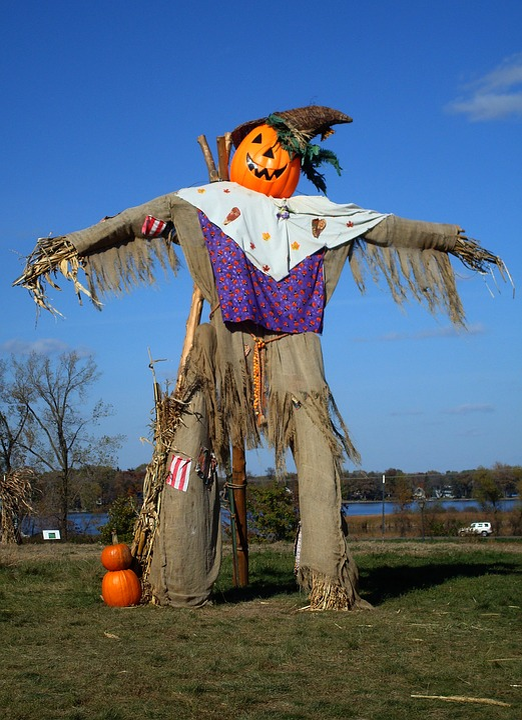 Scarecrow, Autumn, Fall, Seasonal, Harvest, Halloween