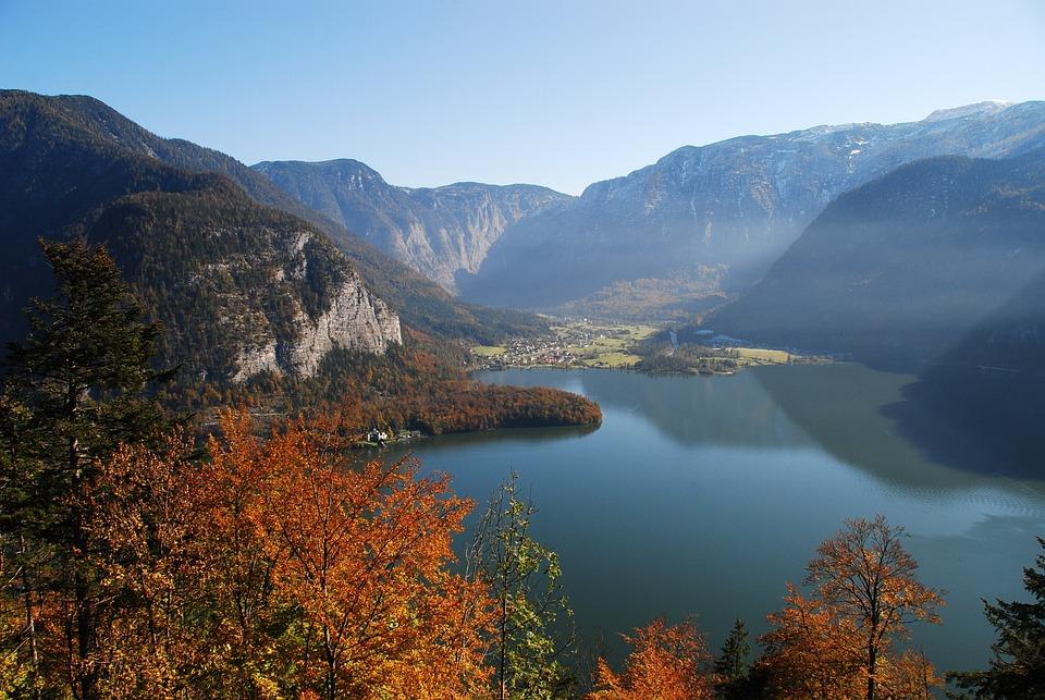 Hallstatt, Hallstätter Lake, Autumn, Lake, Austria