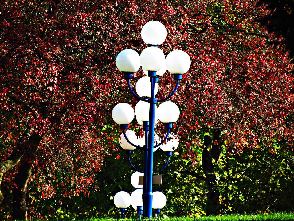 Lanterns, Lantern, Autumn, Foliage, Landscapes